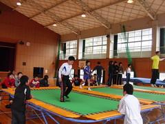Trampoline (Shirokawa_Sara) Tags: trampoline sword ehime hiyoshi kihoku