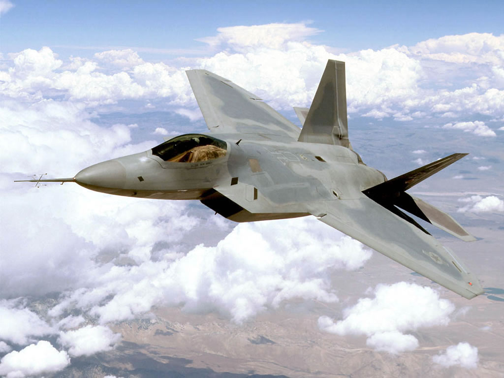 F 22 Raptor jet fighter high resolution wallpapers Pictures