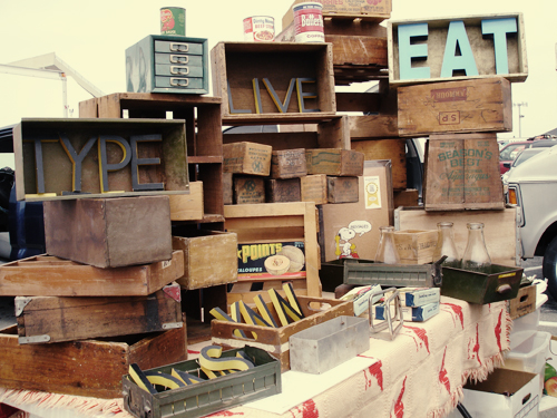 flea market: