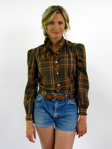 VINTAGE 70's PLAID SHIRT