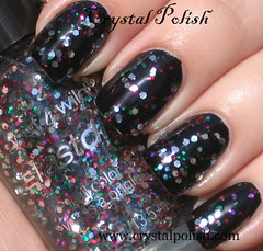 Wet N Wild Party of Five Glitters (CrystalPolish) Tags: wetnwild topcoatglitter partyoffiveglitters
