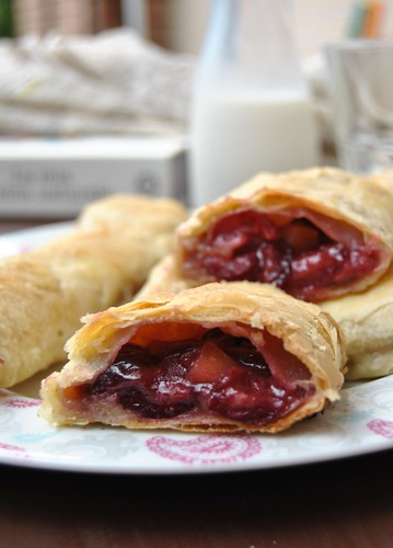 Cherry and Apple Strudel