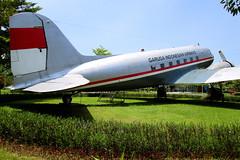 Garuda Indonesian Airways   Douglas DC-3 (C-47)   PK-OAZ   Jakarta (Dennis HKG) Tags: plane ga airplane airport aircraft jakarta gia douglas dc3 dakota garuda c47 wiii planespotting cgk garudaindonesia pkoaz