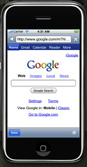 Mobile Colloquy Internal Browser
