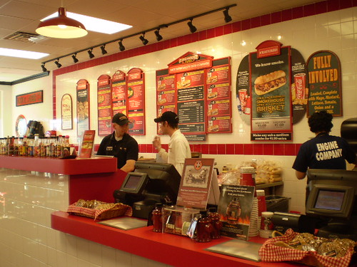 Firehouse Subs. campus. firehouse