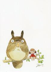 Totoro postcard