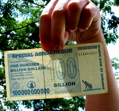 100 000 000 000 [Explored] (Teseum) Tags: africa money explore note dollar zimbabwe 100 economy currency crisis dollars billion explored 100billion inflaction