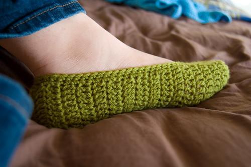 ورشة عمل حذاء منزلي للشتاء بالكروشيه