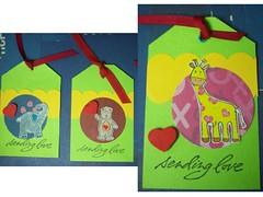 Sending love (NanaScrap) Tags: animals heart valentine ll100 cl155 ll087