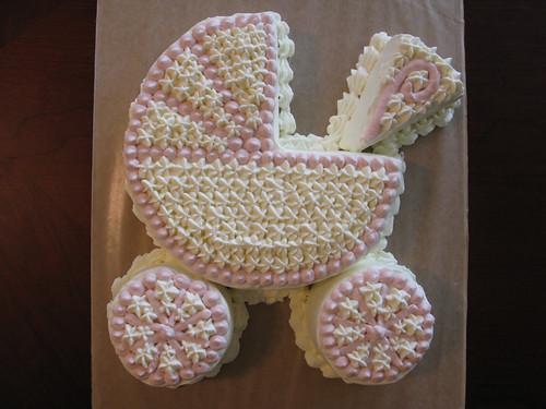 Baby Shower Stroller Cake