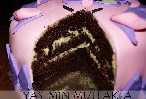 Muzlu Yoğun Çikolatalı Pasta