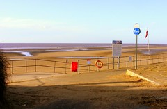 My 'local' beach (* RICHARD M (Over 6 million views)) Tags: england liverpool landscapes europe seascapes statues waterloo rivers towns sculptures crosby antonygormley merseyside brightonlesands irishsea sefton seaforth hightown anotherplace rivermersey ironmen liverpoolbay blundellsands