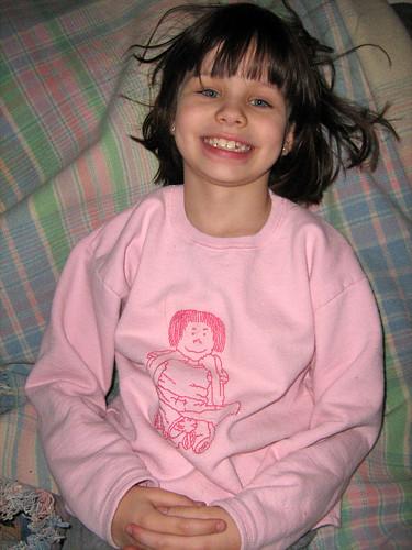 The Ramona shirt is surprisingly meta.