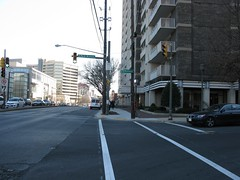 2009 01 23 - 0880 - Friendship Village - MD355 at S Park Ave - SfNW (thisisbossi) Tags: usa us md unitedstates maryland crosswalks trafficsignals friendshipvillage pedestriansignals southparkavenue md355