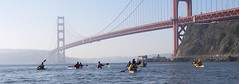Paddling to Lime Point (Sausalito, California, United States) Photo
