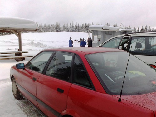 Car driving lessons in snowy Norway #4