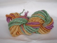 Color Experiment skein 2