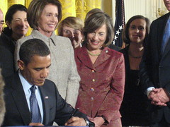 President Obama Signs Childrens Healthcare Bill into Law 2009 by Korean Resource Center 민족학교