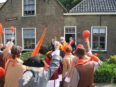 de Orangisten komen Van den Bosch halen