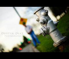 Just because (Dustin Diaz) Tags: hydrant nikon bokeh 85mm firehydrant googleplex 85mmf14d d700