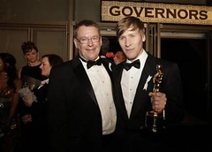 I've never seen Cleve Jones look so happy with Dustin Lance Black!