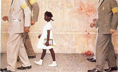 Rockwell, Norman (1894-1978) - The Problem We All Live With