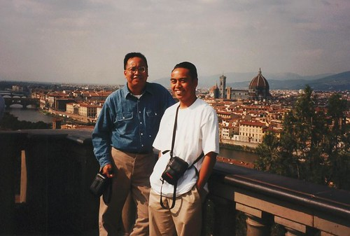 Me and Ron in Florence