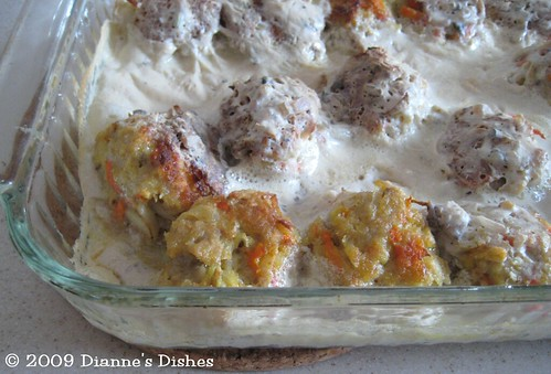 Swedish Meatball With A Twist: Baked
