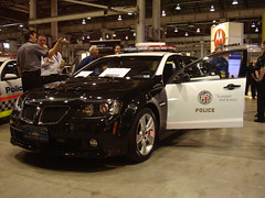 Prototype Pontiac G8 for LAPD