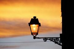 semplicemente sera (duegnazio) Tags: roma canon 350d italia vivid cielo luce lazio lampione romamor duegnazio oneofmypics settimana112009romamor