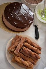 Cake & Churros! (bhewitt) Tags: cake chocolate knife churro