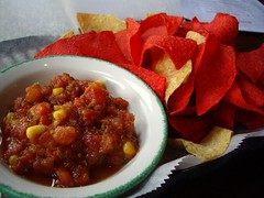 Chips and Salsa from Banana Bean Cafe (Columbus, OH)