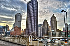 Pittsburgh HDR (Dave DiCello) Tags: city sunset urban black building cars hockey clouds photoshop buildings landscape evening nikon flickr pittsburgh cityscape skyscrapers cs2 dusk ripple steel parking explorer lot arena pens hdr stanleycup mellon 18mm mellonarena pittsburghpa civicarena steelcity sidneycrosby photomatix flickrexplore pittsburghpenguins yinzer pittsburghbridges d40 cityofbridges marcandrefleury theburgh upmc explored nationalhockeyleague pittsburgher evgenimalkin d40x maximetalbot tylerkennedy thecityofbridges maxtalbot pittsburghphotography consolenergycenter evad310 davedicello stanleycuprings penguinsstanleycupring pittsburghcityofbridges steelscapes picturesofpittsburgh cityofbridgesphotography