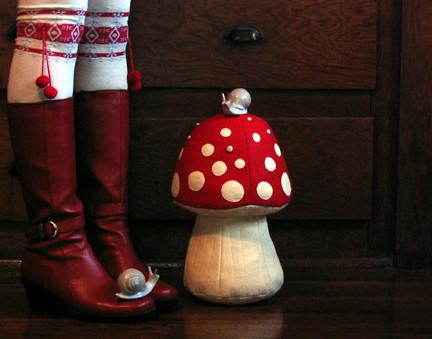 stuffed mushrooms & escargot
