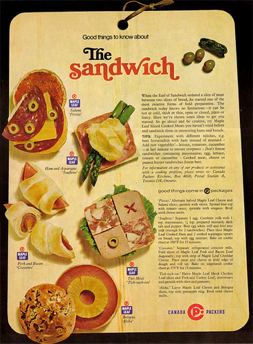 Vintage Ad #786: The Sandwich