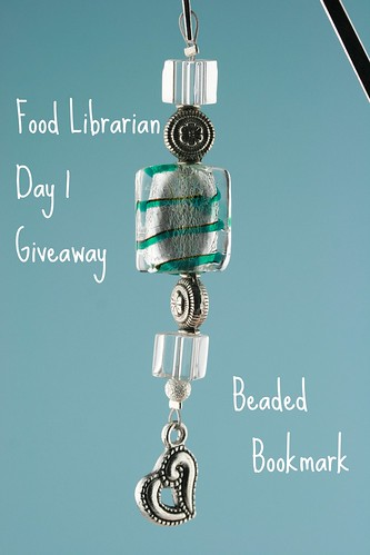 Food Librarian - Bookmark - Day 1