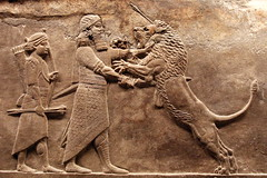 Assyrian Royal Lion Hunt ( Libyan Soup) Tags: animal killing wounded iraq hunting lion carving relief arrows soldiers britishmuseum dying mesopotamia hunt injured lionhunt assyria assyrian northpalace ninevah lionhunting royallionhunt royalhunt kingashurbanipal