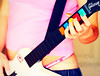 guitar hero-ine. (*northern star°) Tags: pink blue red orange selfportrait verde green rot me girl yellow azul self canon rouge 50mm rojo play hand guitar blu buttons hellokitty tripod rosa io bleu explore amarillo nails gelb giallo sp mano autoritratto grün blau guitarhero coloured rosso naranja fille ritratto arancio je tanga chitarra tasti autoscatto arancione ragazza suonare muticoloured northernstar unghie remotecontroller spazzolino dentifricio skullie explored donotsteal eos450d ©allrightsreserved gibsonexplorer teschietto guitarheroine northernstarandthewhiterabbit northernstar° digitalrebelxsi eff18ii canonrc5 usewithoutpermissionisillegal northernstar°photography ifyouwannatakeitforpersonalusesnotcommercialusesjustask