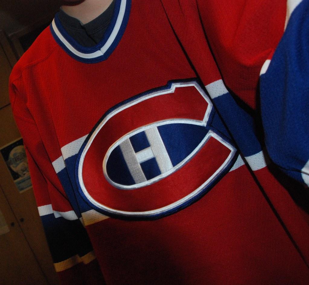 106/365 - Le chandail de hockey
