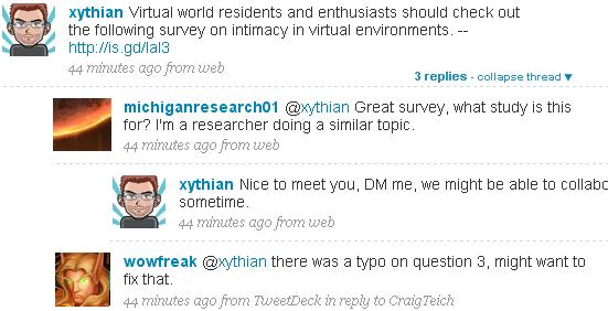 Tweets-threading