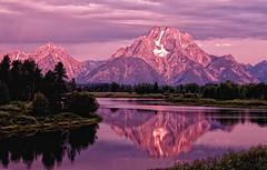 Quiet Color in the Morning (Jeff Clow) Tags: landscape raw wyoming mountmoran grandtetonnationalpark oxbowbend 1exp jacksonholewyoming