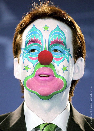 Tim Pawlenty (Gov. R-MN):: Obstructionist Republican Clown by WMxdesign / Hebiclens.