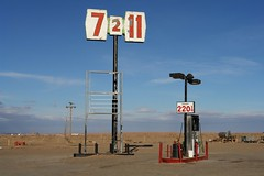 Gas Station, Arizona Near Kayenta (Alex E. Proimos) Tags: soe gas prices oil rise catastrophe peak slump fuel lpg petrol pump station empty running arizona run out proimos alexproimos