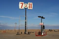 Gas Station, Arizona Near Kayenta (Alex E. Proimos) Tags: soe gas prices oil rise catastrophe peak slump fuel lpg petrol pump station empty running arizona run out proimos alexproimos