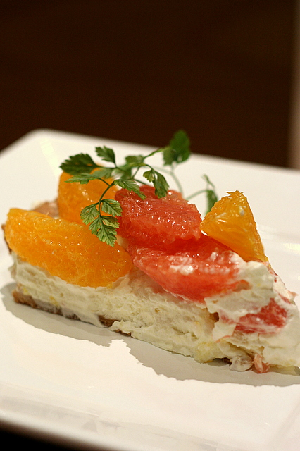 Orange and Grapefruit Fruit Tart
