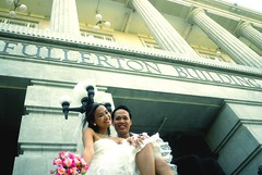 Wedding photo - Bluerose & Sarahe =P (Jason Dinh Ba Thanh) Tags: wedding love photography nikon singapore 20mm d200 fullerton f28 ais bluerose sarahe nikond200 clerkquay nikon20mmf28ais littleinda