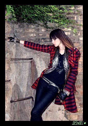Как одеться в стиле Glam Rock Стильные комбинации одежды от Кристен...