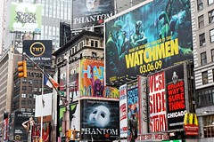 Showing shows (jver64) Tags: usa newyork manhattan timessquare theaterdistrict