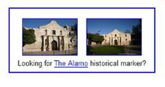 Alamo site navigation aid