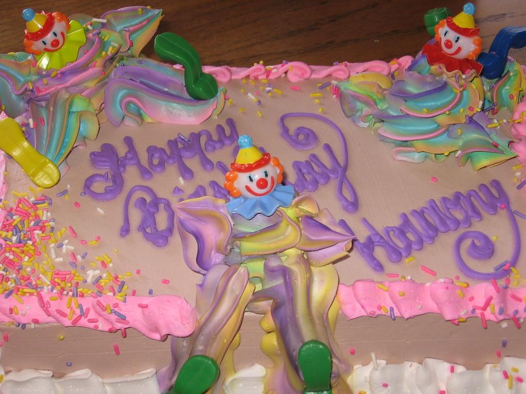 28th Birthday Harmonyd Tags Seattle Cake Washington Birthdaycake Bakery Clowns 2009